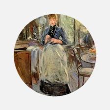 """Berthe Morisot 3.5"""" Button"""