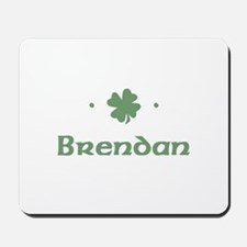 """Shamrock - Brendan"" Mousepad"