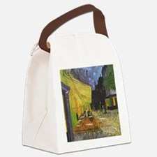 Night Cafe Canvas Lunch Bag