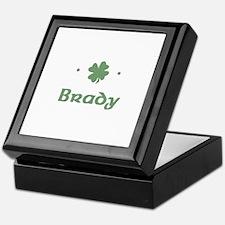 """Shamrock - Brady"" Keepsake Box"
