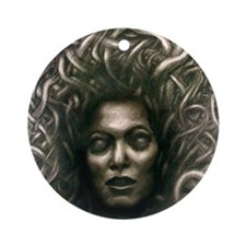 Medusa Round Ornament