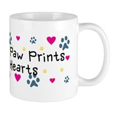 dogs-leave-paw-prints-car-w Mug