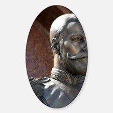 Bust of Nicholas II, last Tsar of R Sticker (Oval)