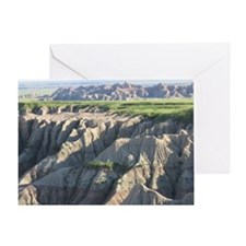 Badlands SD 2 Greeting Card