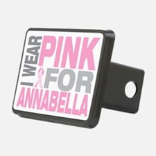 I-wear-pink-for-ANNABELLA Hitch Cover
