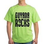 Guyana Rocks Green T-Shirt