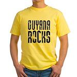 Guyana Rocks Yellow T-Shirt