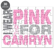 I-wear-pink-for-CAMRYN Puzzle