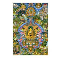 Buddha Life 4064x5823 (Co Postcards (Package of 8)