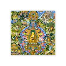 "Buddha Life 4064x5823 (Colo Square Sticker 3"" x 3"""