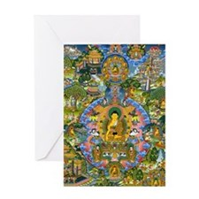 Buddha Life 4064x5823 (Color) Greeting Card