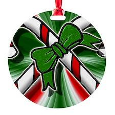 candycanes art 1 Ornament