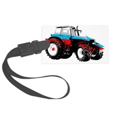 Tractor Style Luggage Tag