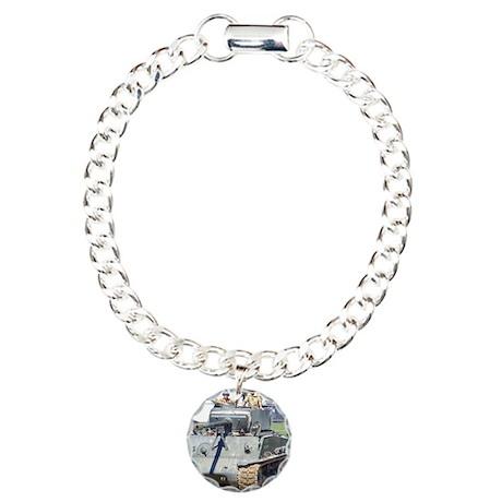 SHERMAN Charm Bracelet, One Charm
