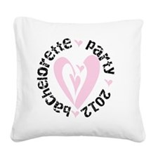 bachparty2012 Square Canvas Pillow