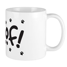 Woof! Dog-Themed Mug