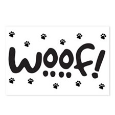 Woof! Dog-Themed Postcards (Package of 8)
