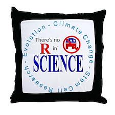 SCIENCE.gif Throw Pillow