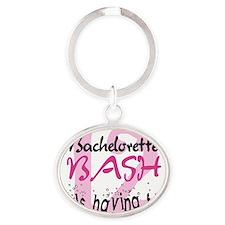 bach12girlfun Oval Keychain