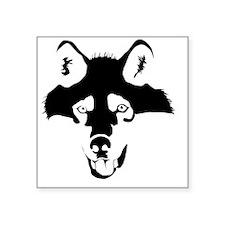 "wolf.gif Square Sticker 3"" x 3"""