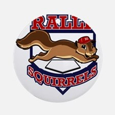 Rally Squirrels #1 Round Ornament