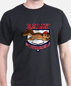 Rally Squirrels #1 T-Shirt