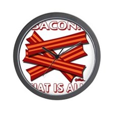 vcb-bacon-that-is-all-2011b Wall Clock