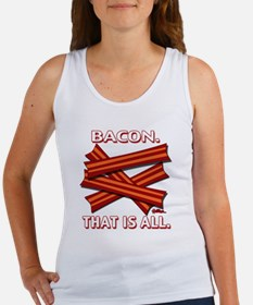 vcb-bacon-that-is-all-2011b Women's Tank Top