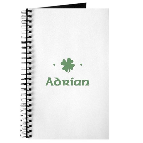"""Shamrock - Adrian"" Journal"