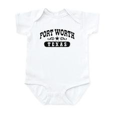 Fort Worth Texas Infant Bodysuit
