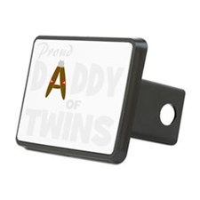 Unique daddy of twins Hitch Cover