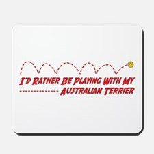 Terrier Play Mousepad