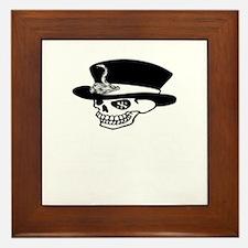 greedy one percent dead w Framed Tile