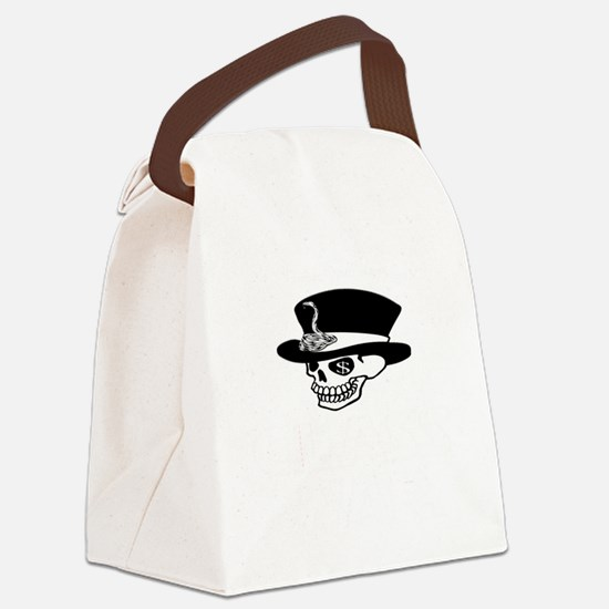 greedy one percent dead w Canvas Lunch Bag