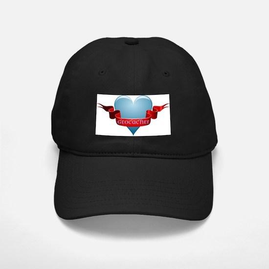 Geocacher Ribbon Baseball Hat