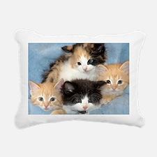 shelter-kittens12x20 Rectangular Canvas Pillow