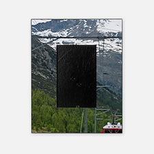 Diavolezza Peak, Switzerland. Train  Picture Frame