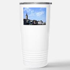 Switzerland Skyline and river i Travel Mug