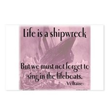shipwreck2 Postcards (Package of 8)