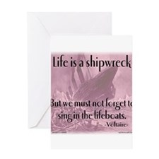 shipwreck2 Greeting Cards