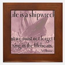 shipwreck2 Framed Tile
