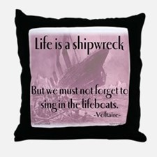 shipwreck2 Throw Pillow