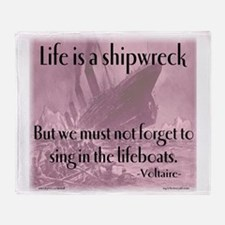 shipwreck2 Throw Blanket