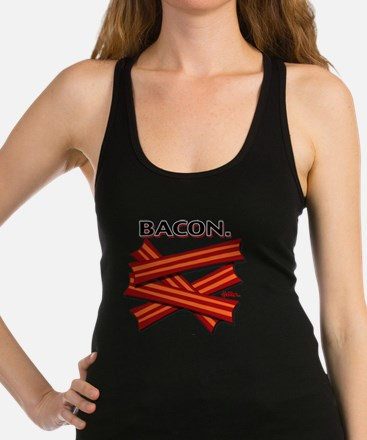 bacon-cap-2011b Racerback Tank Top
