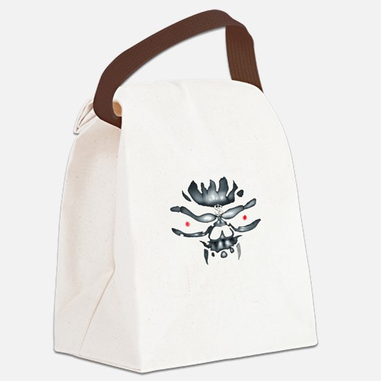 greedy one percent w copy Canvas Lunch Bag
