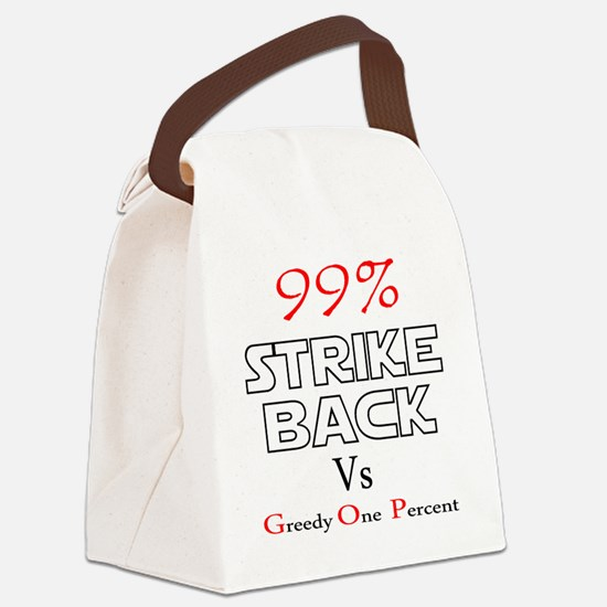 strike back b Canvas Lunch Bag
