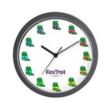 Foxtrot quincy Wall Clocks