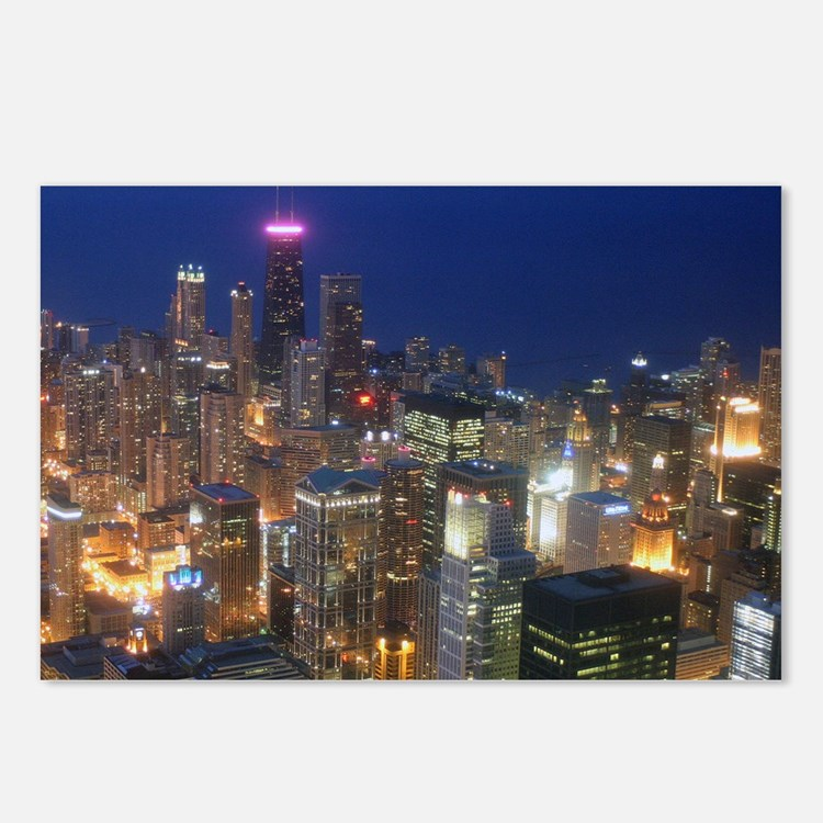 Sears Tower View Postcards (Package of 8)