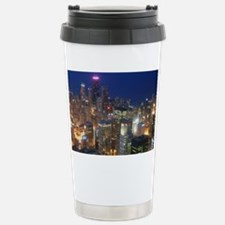 Sears Tower View Stainless Steel Travel Mug