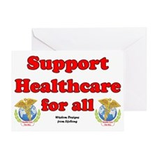 healthcaresign Greeting Card